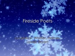Fireside Poets - Copley