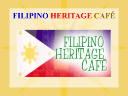 FILIPINO ONLINE CAFE - Language acquisition
