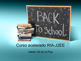 Curso acelerado RIA-J2EE