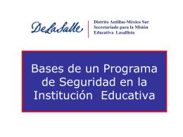 La Responsabilidad Social en las Instituciones Educativas