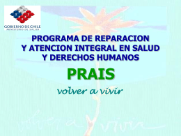 PROGRAMA PRAIS