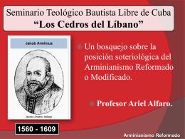 """Seminario Teologico Bautista libre """" Los Cedros del Libano"""""""