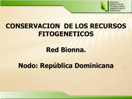 Diapositiva 1 - Bionna.org: home