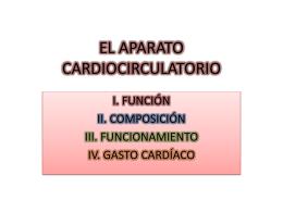 EL APARATO CARDIOCIRCULATORIO - afdmachado