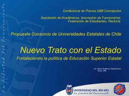 Conferencia de Prensa UBB