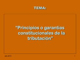 CONFERENCIA TEMA: