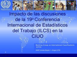 Impacto de las discusiones de la 19a Conferencia