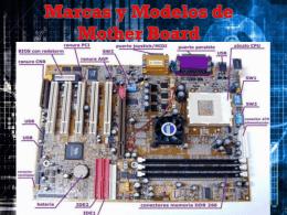 Marcas y Modelos de motherboard