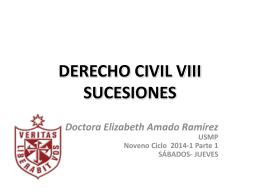INTRODUCCION AL DERECHO DE SUCESIONES