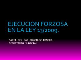 MARIA DEL MAR GONZALEZ ROMERO. SECRETARIO …