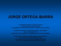 JORGE ORTEGA IBARRA