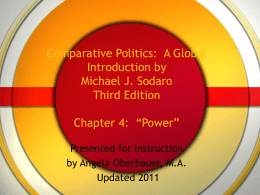 Comparative Politics: A Global Introduction by Michael J
