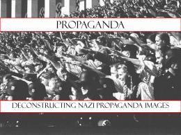 Propaganda - United States Holocaust Memorial Museum