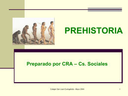 PREHISTORIA - ColegioChile2014's Blog | Just another