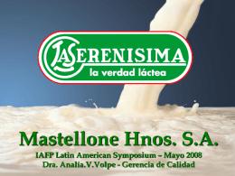 Mastellone Hnos. S.A.