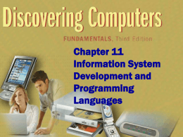 Discovering Computers Fundamentals 3rd Edition