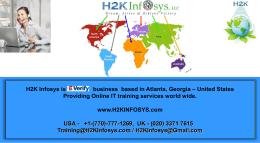 Alpha Rex - H2K Infosys