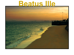 Beatus Ille - De gentes y libros