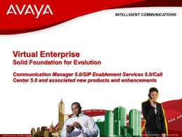 Avaya Communication Manager