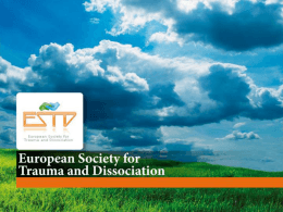 European Society for Trauma and Dissociation (ESTD)