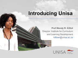 Introducing Unisa - University of Southern Queensland