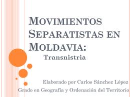 Movimientos Separatistas en Moldavia