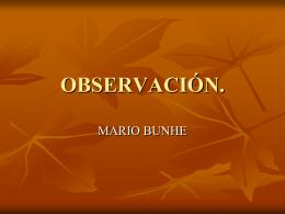 OBSERVACION.
