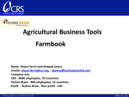 Technobrain - Agricultural Business Tools