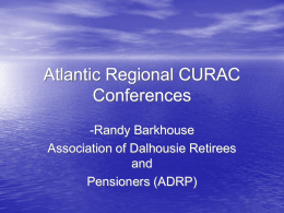 Atlantic Regional Conferences