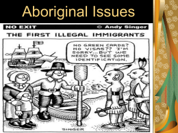 Aboriginal Issues - Greater Victoria School District