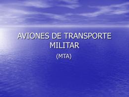 AVIONES DE TRANSPORTE MILITAR - E.T.S.I.A.