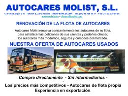 AUTOCARES MOLIST, S.L.