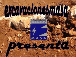 Diapositiva 1 - Excavacion Electricas Masa