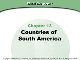 World Geography - San Jose Unified School District