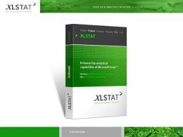XLSTAT User Conference June 7