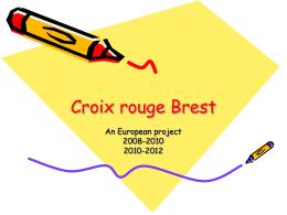 Croix rouge Brest