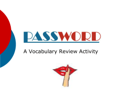 Password - Cobb Learning