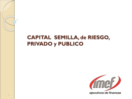 CAPITAL FINANCIERO E INTELECTUAL PARA EL …