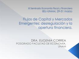 Flujos de Capital y Mercados Emergentes