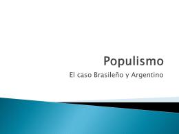 Populismo - .: Colegio Campvs College