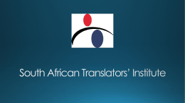 South African Translators' Institute