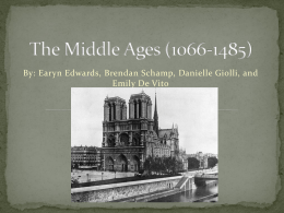 The Middle Ages (1066-1485) - semisch11