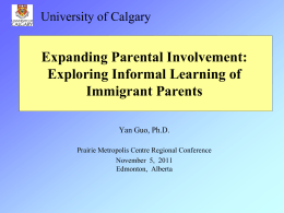 Academic Presentations: Exploring the L2 Socialization of