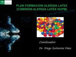 PLAN FORMACION ALERGIA LATEX (COMISION ALERGIA …
