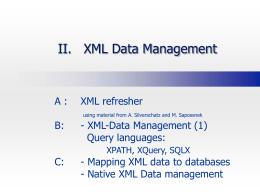 XML in a Nutshell - fu