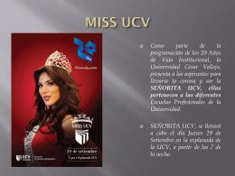 Diapositiva 1 - Consorcio Universitario UCV - USS