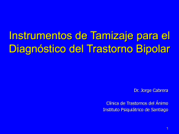 Diapositiva 1 - Sociedad Chilena de Salud Mental