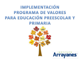 Diapositiva 1 - Instituto Arrayanes