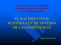 VALORACION DE LA PRUEBA Jorge Federico Lee