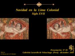 Navidad en la Lima Colonial